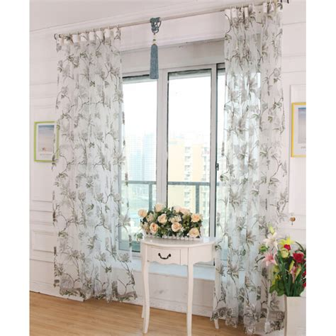 grey sheer curtains white sheer curtain hemmed 213 cm drop