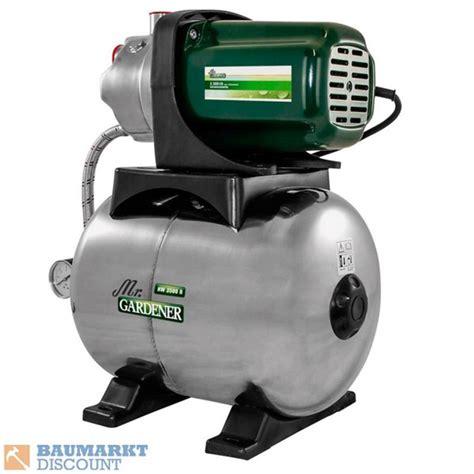 hauswasserwerk mr gardener mr gardener hauswasserwerk hw 3500 ii baumarkt discount f 252 r 119 ansehen 187 discounto de
