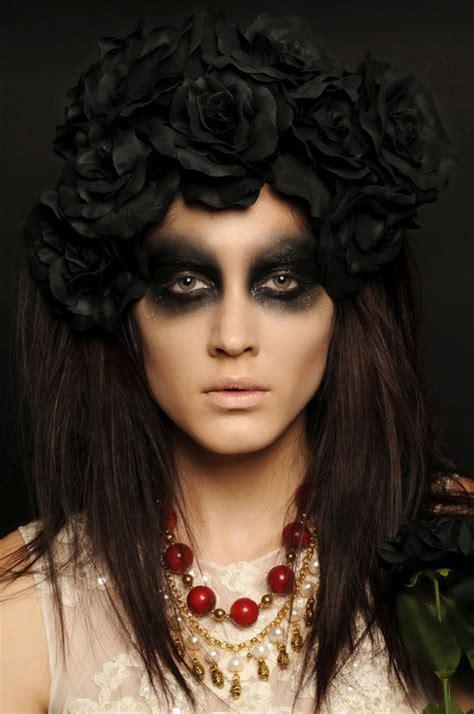 easy creative  scary halloween hairstyles
