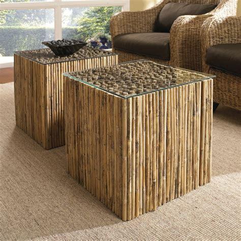 tapis en bambou pas cher jolies variantes pas cher pour un meuble en bambou