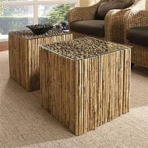jolies variantes pas cher pour un meuble en bambou With tapis en bambou pas cher