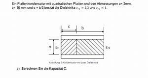 Kondensator Kapazität Berechnen : elektrisches feld kapazit t berechnen forum physik ~ Themetempest.com Abrechnung