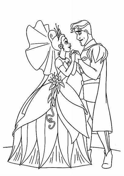 Princess Coloring Prince Pages Marvelous Booksee Printable