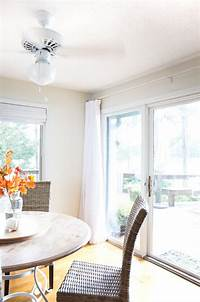 curtains for sliding glass doors How to Make Extra Wide Drapes for Sliding Glass Doors   In ...
