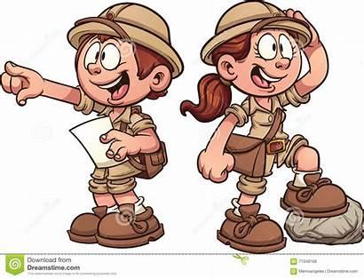 Explorer Clipart Animated Cartoon Clip Kid Clipground