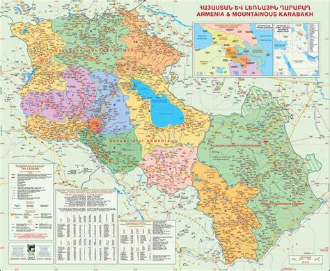 large maps  armenia  karabakh karabakh maps