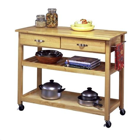 solid wood kitchen island work table   home styles