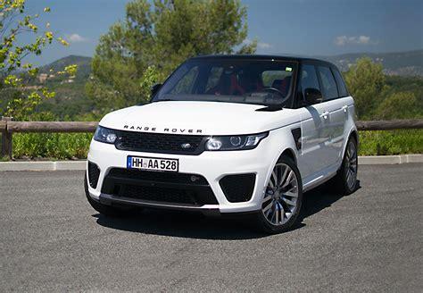 Hire Range Rover Sport Svr Rental