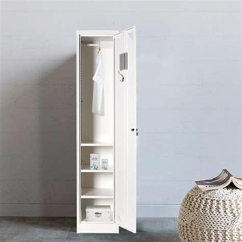 Small Single Wardrobe by Strong Godrej Steel Almirah Single Door Small Wardrobe