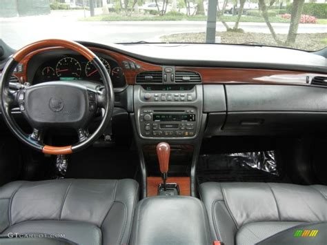 cadillac deville dts sedan black dashboard photo