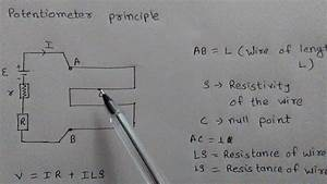 Potentiometer Principle