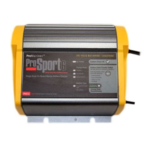 Marine Battery Charger 10 by 43006 Promariner Prosport 6 3 12v 6 Marine Charger