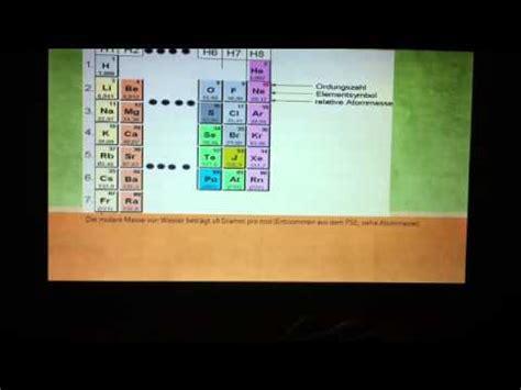 chemie die stoffmengenkonzentration berechnen youtube