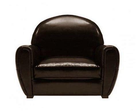 fauteuil club hello fauteuil club marron brillant en cuir bycast