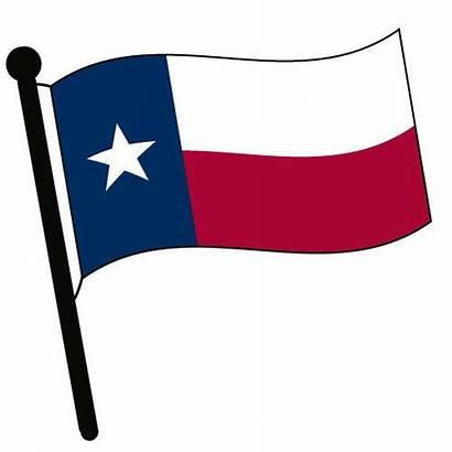 Flag Texas Waving Clip Stencil Sku States