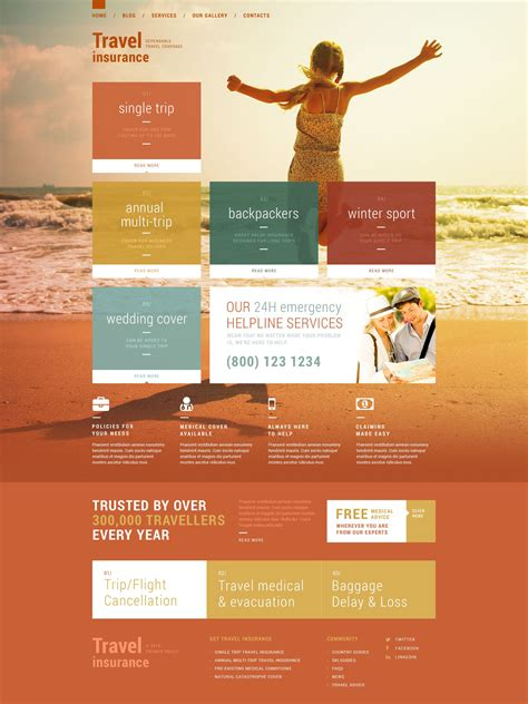 travel insurance website template travel insurance templates 13 unexpected ways travel