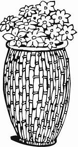 Coloring Vases Pages Pottery Adult Vase Printable Colorpagesformom Coloringpages sketch template