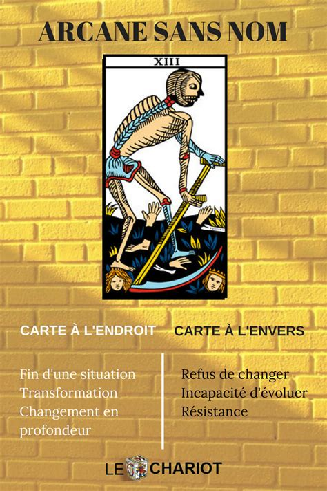 le tarot de marseille signification tarot signification