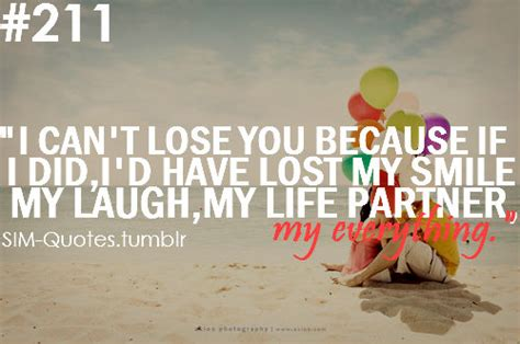 I Cant Lose You Quotes