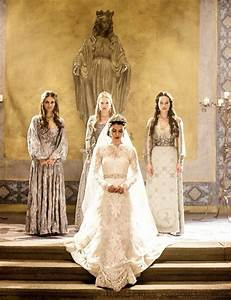 Beautiful wedding and lady on pinterest for Reign mary wedding dress