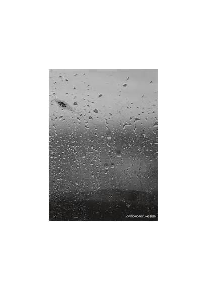 Rain Window Outside Gifs Animated Watching Private