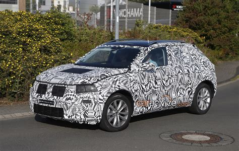 volkswagens brand  small suv spied confirmed