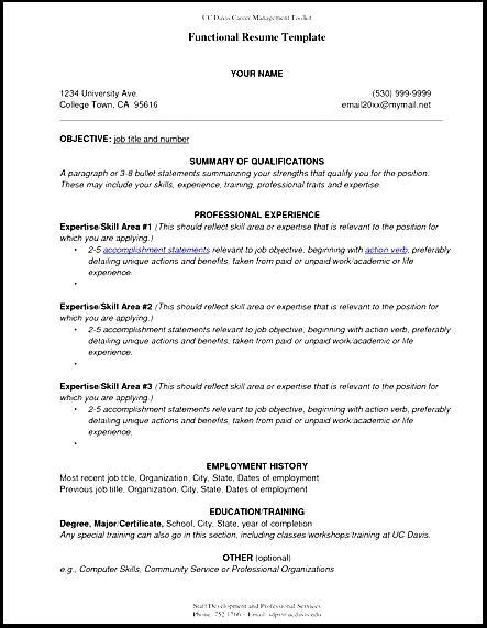 View Resume Format by View Sle Functional Resume Free Sles Exles