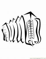 Coloring Accordian Printable Powered Results Yahoo sketch template