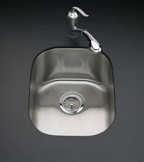 kohler undertone kitchen sink kohler k 3164 na undertone rounded single basin 6707