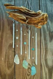 Windspiele Aus Holz : windspiel aus treibholz und polierte glasst cke basteln pinterest windspiele treibholz ~ Buech-reservation.com Haus und Dekorationen