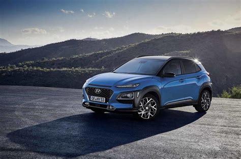 Small Hybrid Suv by New Hyundai Kona Hybrid Revealed As 70mpg Small Suv Autocar