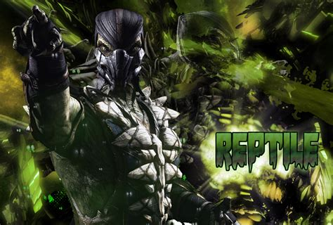 Reptile Mkx Poster By Immortalkombat On Deviantart