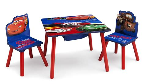 disney cars table  chairs lightning mcqueen
