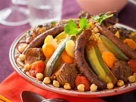 cuisine couscous traditionnel couscous royal aux 3 viandes recettes femme actuelle