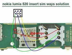 Nokia Lumia 520 Insert Sim Solution Jumper Ways