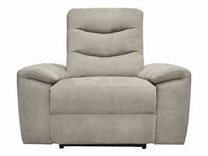 Fauteuil Electrique Conforama : fauteuil relaxation lectrique en tissu foster coloris gris vente de tous les fauteuils ~ Teatrodelosmanantiales.com Idées de Décoration