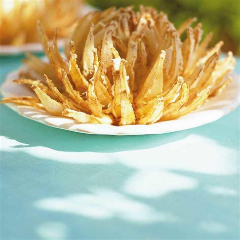 recettes de cuisine d été fleurs d 39 oignons frits ricardo