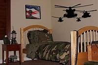 best army bedroom wall Helicopter Army Boys Kids Room Wall Decal Decor Huge 50 | eBay