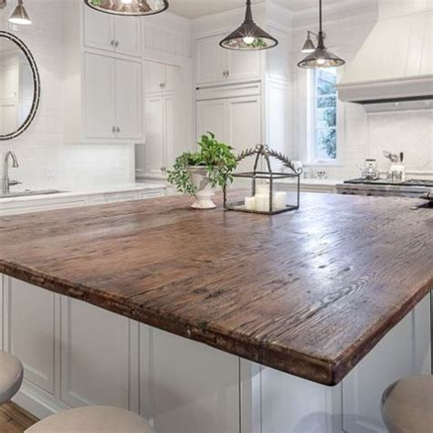 rustic countertops  add coziness   home