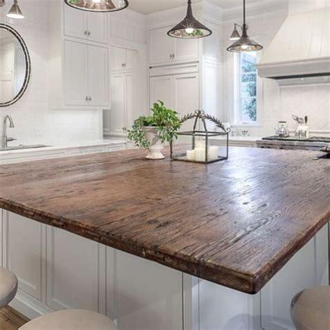 rustic countertops  add coziness   home digsdigs