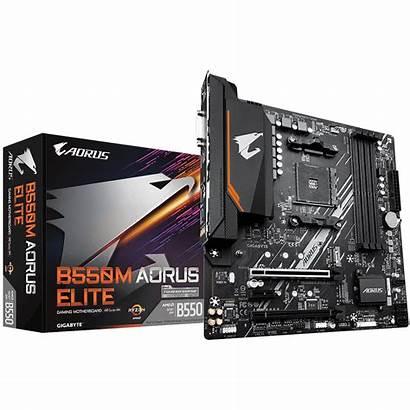 B550 Aorus Gigabyte Motherboard Elite Amd Gaming