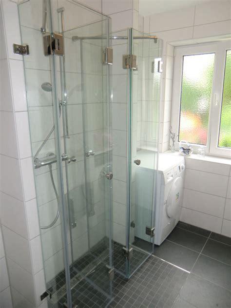 dusche u form glas de duschkabine u form