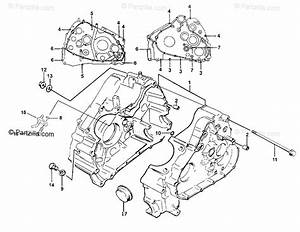 Arctic Cat Atv 1999 Oem Parts Diagram For Crankcase Assembly