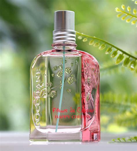loccitane happy cherry fragrance british beauty blogger