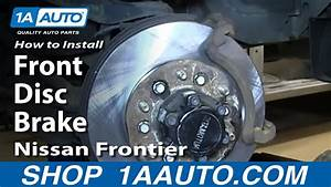 How To Replace Front Brakes 03