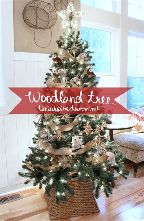 tree ideas my woodland christmas tree reveal the inspired room