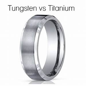 Tungsten Vs Titanium For Your Mens Wedding Band Camo