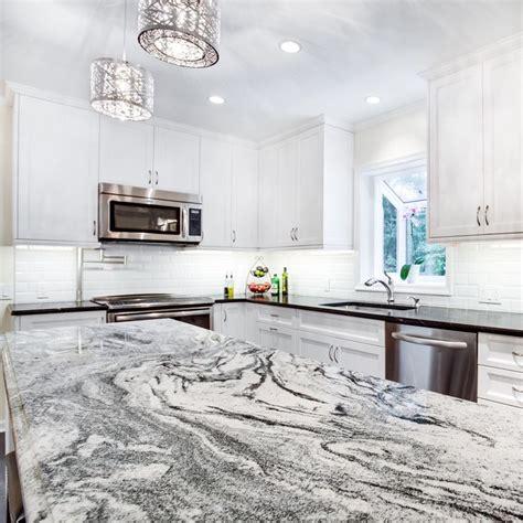 white marble kitchen island this silver cloud granite kitchen island countertop makes 1436
