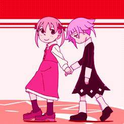 Little Crona and Little Maka by mabelpines2001 on DeviantArt