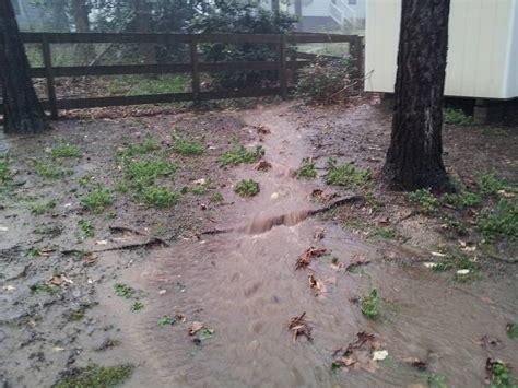 backyard drainage problems major yard drainage issue